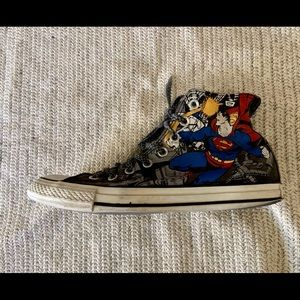 CONVERSE...SUPERMAN..high tops